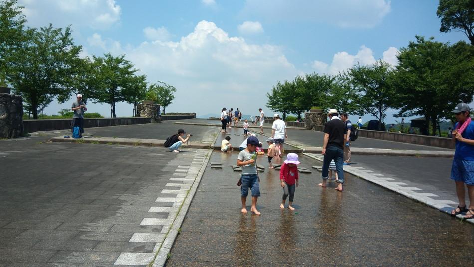 福岡 大野城 憩いの森公園 おすすめ 水遊び 夏 涼しい 子育て