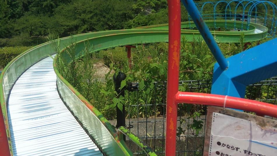福岡 大野城 牛頸公園 遊具 スライダー