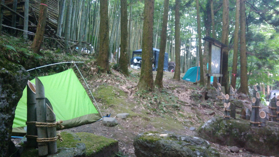 福岡の直方。おすすめキャンプ場は竜王キャンプ場