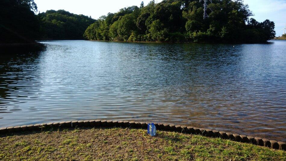 島根 菰沢オートキャンプ 池 ブラックバス 釣り キャンプブログ