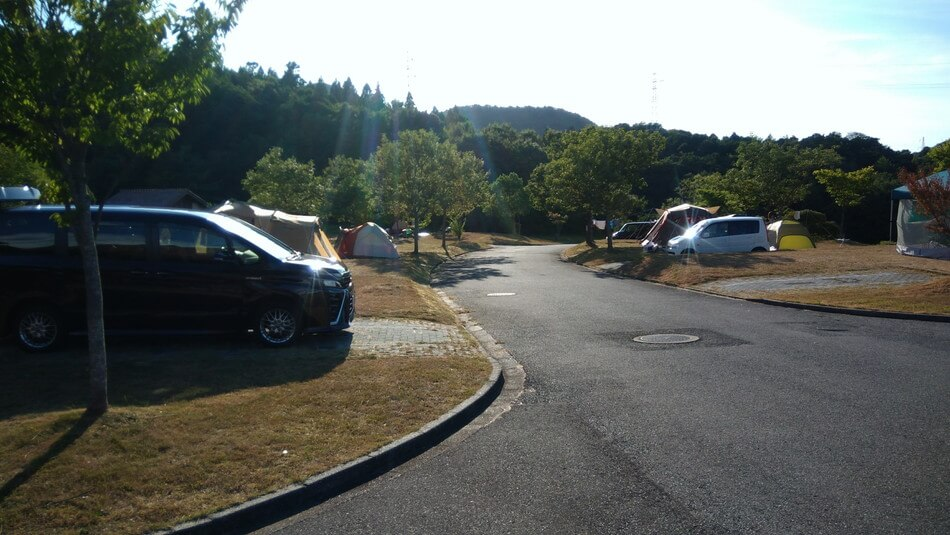 島根 菰沢オートキャンプ場 蟻が多い 家族 子供
