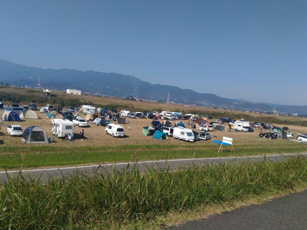 佐賀河川敷 キャンプ オートキャンプ ブログ