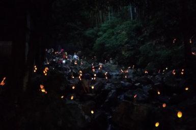 直方 竜王の滝 神秘的 福岡 イベント 夏 キャンプ ブログ