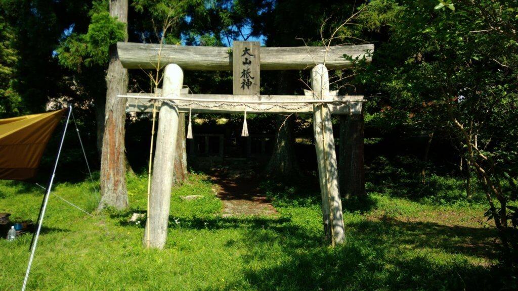 おすすめ 福岡の若杉キャンプ場 鳥居 BBQ