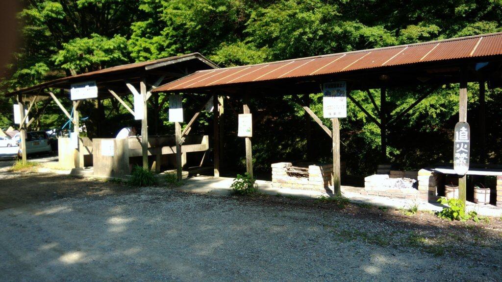 福岡 若杉キャンプ場 炊事場
