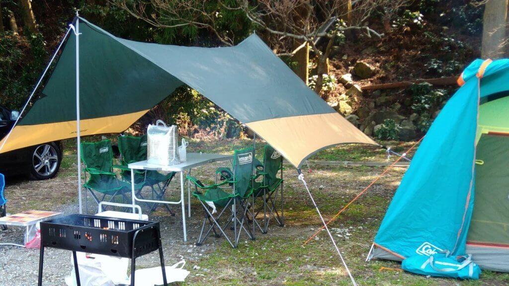 福岡 若杉キャンプ場はおすすめです キャンプブログ ファミリー