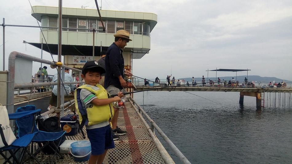 子供 釣り 海釣り サビキ アジ 福岡市海釣り 公園 糸島