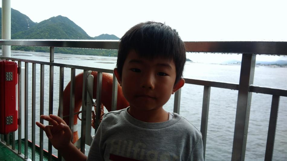 家族でお出かけ 広島宮島厳島神社 キャンプ ブログ フェリー