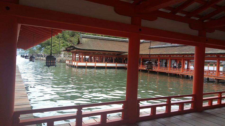 家族でお出かけ。広島宮島厳島神社