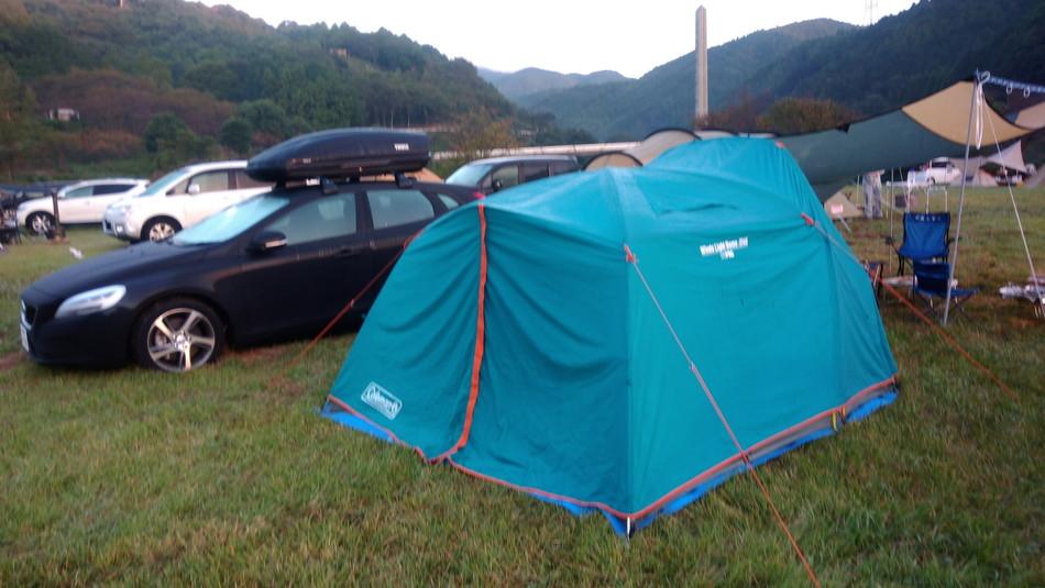 キャンプ COLEMAN テント