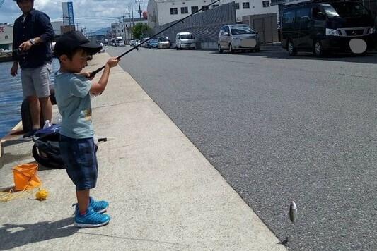 ファミリーフィッシング 福岡 那の津 釣り