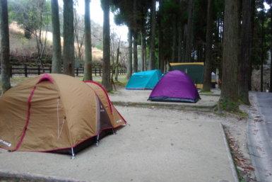 北山ダム キャンプ場 テントサイト 佐賀のキャンプ