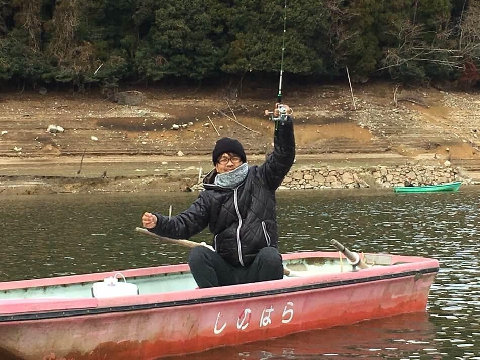 ワカサギ W 釣り方 キャンプブログ