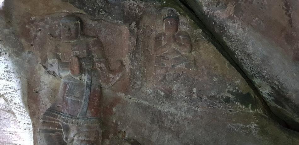 佐賀観光 鵜殿の石仏群