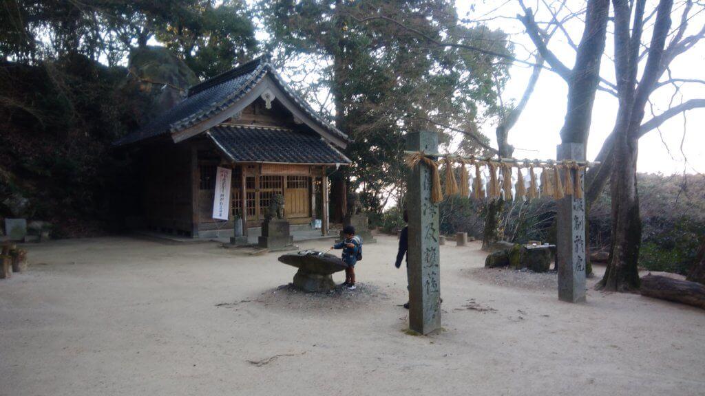 筑紫野 天拝山の神社 福岡 キャンプブログ