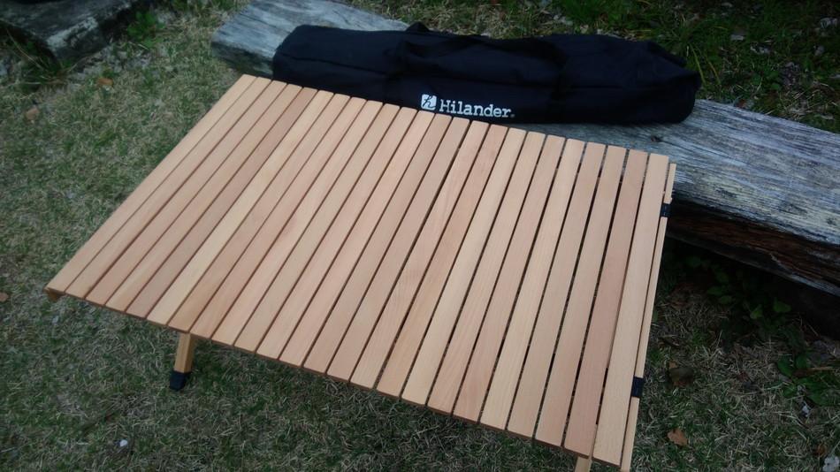 日向神峡キャンプ場 ハイランダー テーブル4