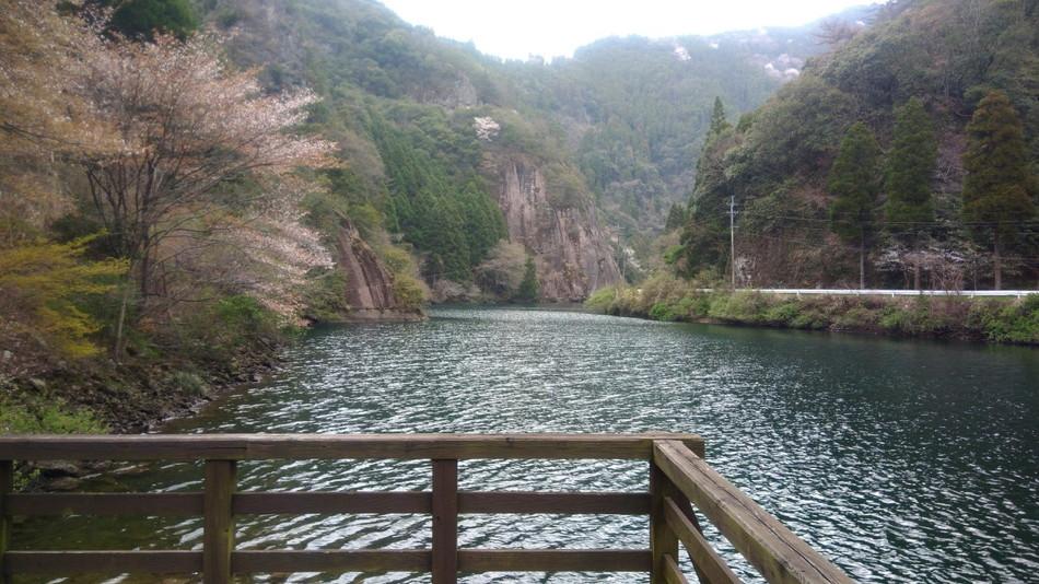 日向神峡キャンプ場の釣り