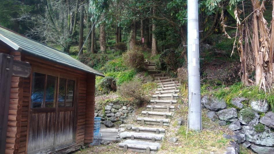 登山 日向神峡キャンプ場