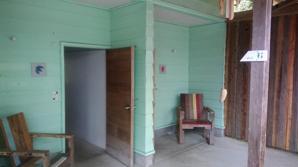 バルンバルンの森のトイレ