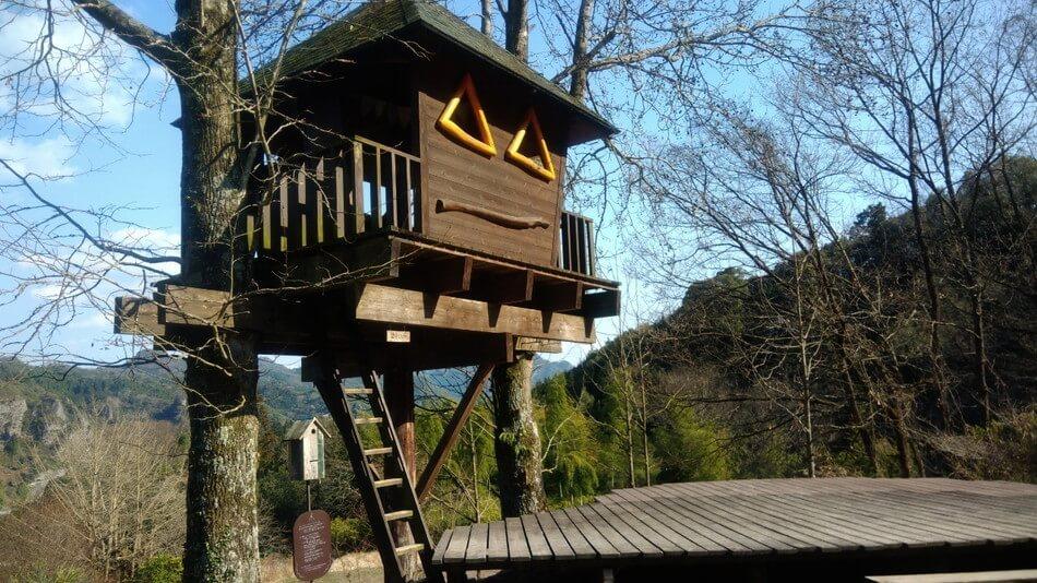 大分バルンバルンの森 ツリーハウス
