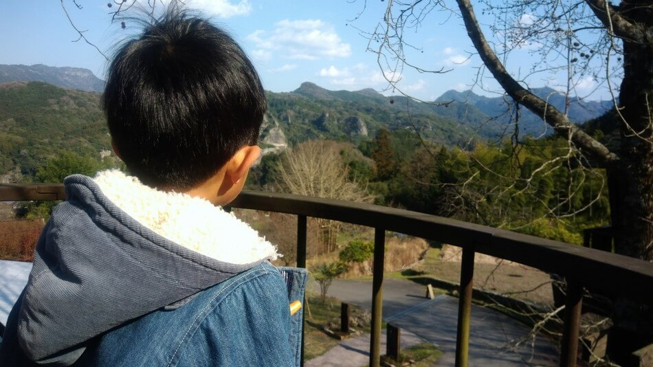 大分バルンバルンの森 展望台からの景色