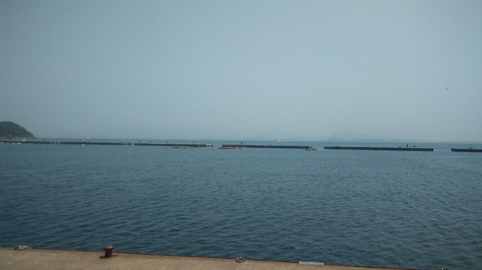 相島 渡し釣り 堤防