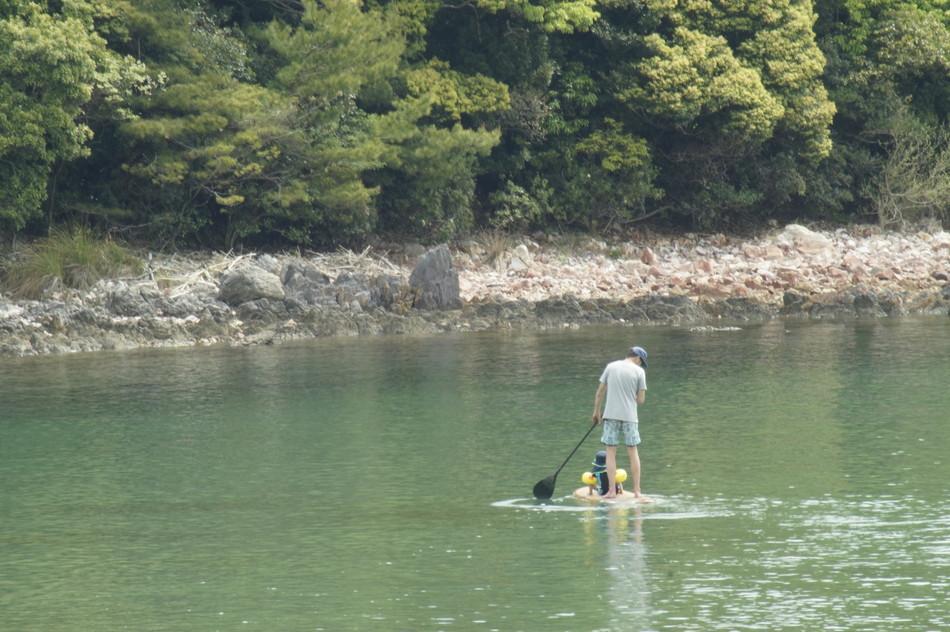 長崎 大崎自然公園キャンプ場のサーフィン