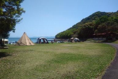 長崎大崎キャンプ場 フリーサイト