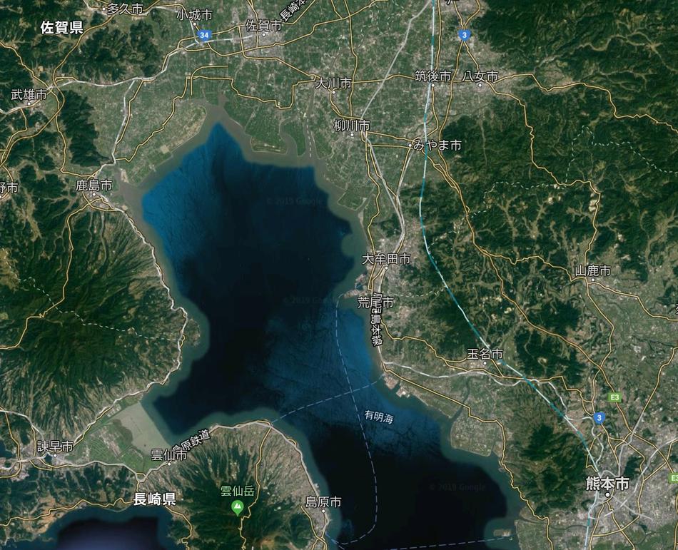 有明海 地図