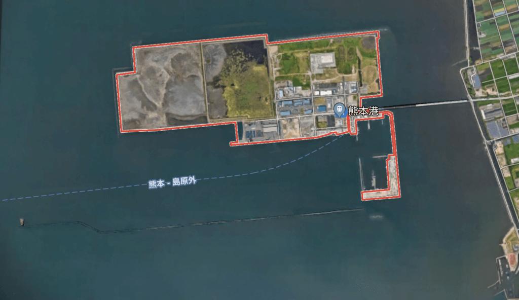 熊本新港 有明海