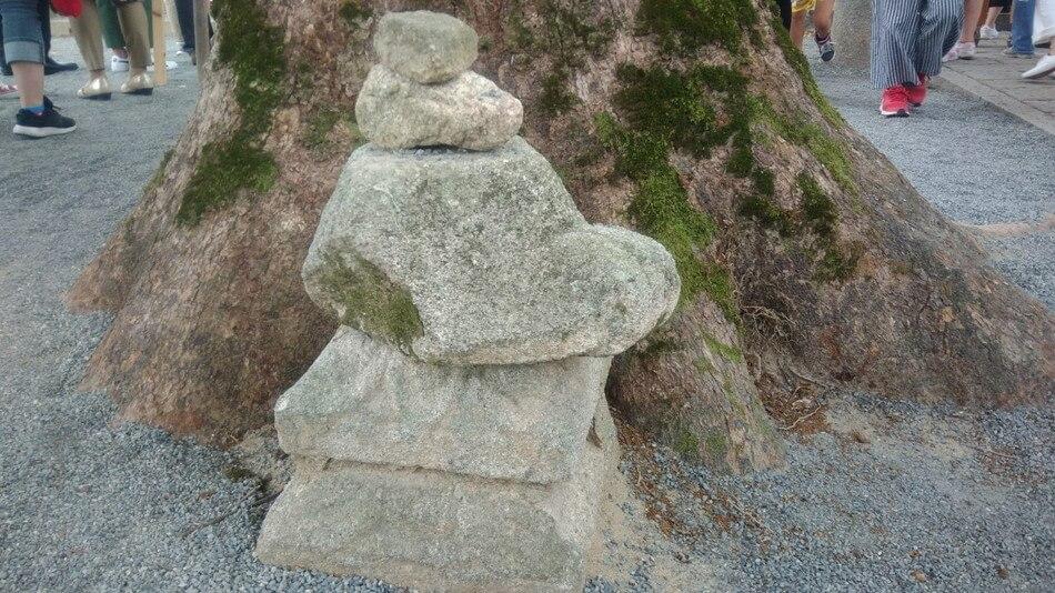 福岡 令和 坂本八幡宮 石