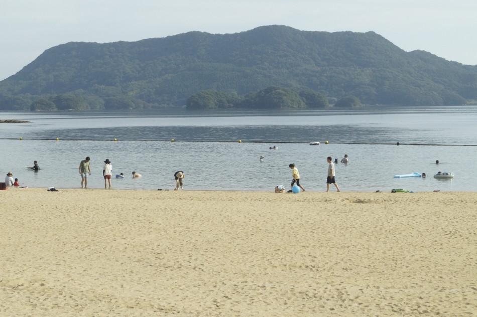 佐賀 海水浴 唐津 穴場 キャンプ場の海