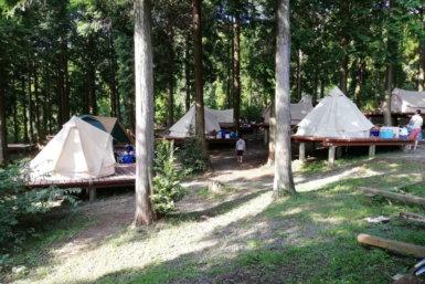熊本おすすめキャンプ場 四季の里 キャンプサイト