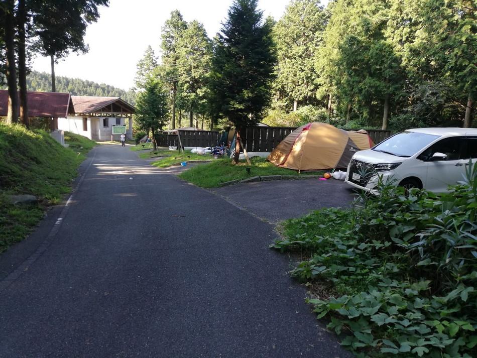 熊本菊池四季の里キャンプ場 オートサイト