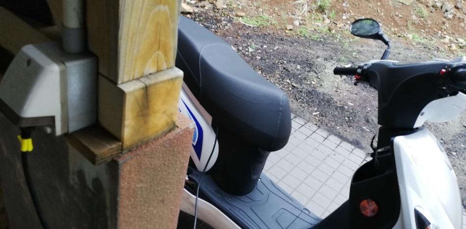 壱岐 エコバイク 充電スポット