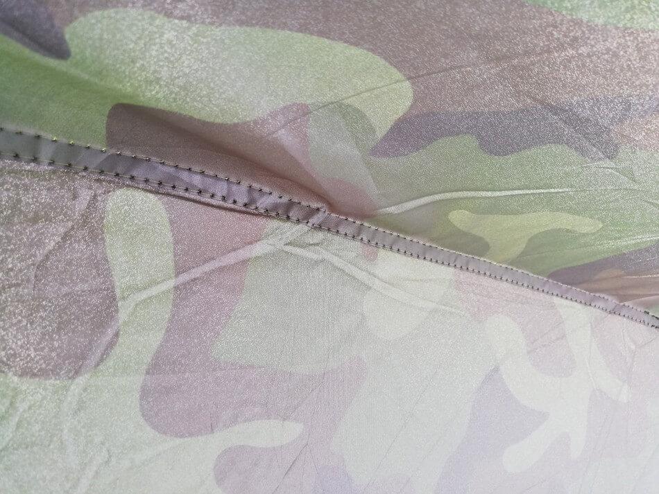 激安テントの裁縫