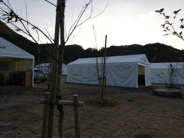 福岡おすすめ五ケ山キャンプテント