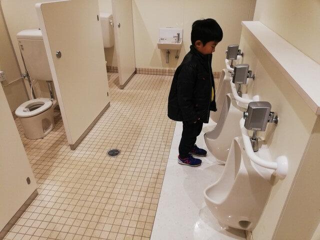 五ケ山キャンプ トイレ 子供