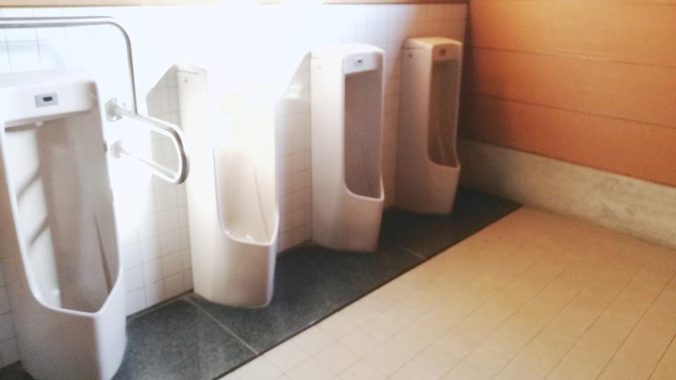 オートキャンプ場のトイレがきれい