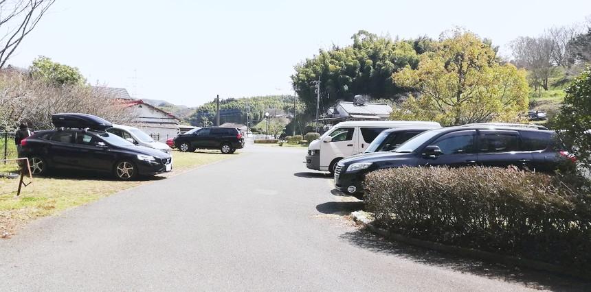 みやま市大牟田高田濃施山公園駐車場