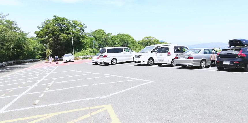 愛宕神社駐車場2