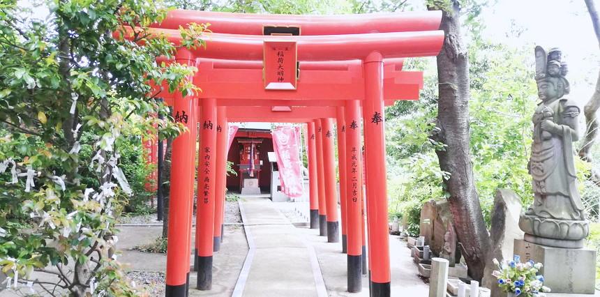福岡愛宕神社お稲荷様