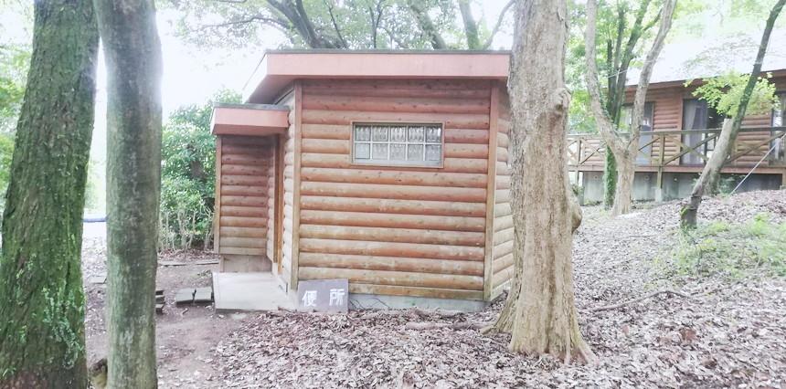 佐賀 キャンプ場ブログのトイレ