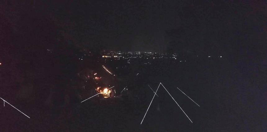夜景 キャンプ場