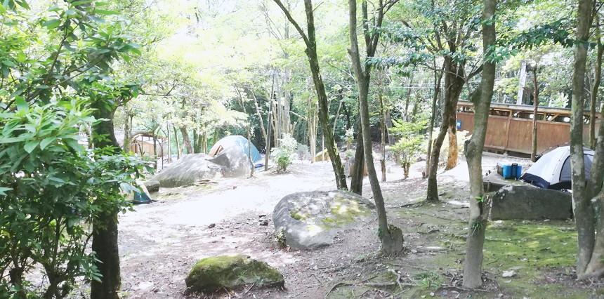 野営のキャンプ2
