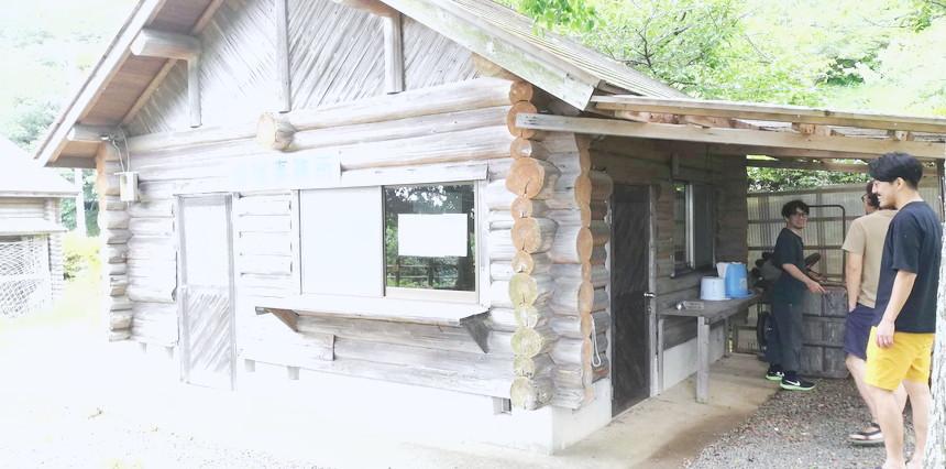 おすすめキャンプ場の管理棟